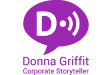 Donna Griffit Corporate Storyteller Logo